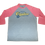 Thumbnail: Jim Quick & Coastline tri blend 3/4 sleeve raglan tees