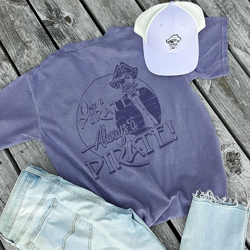 """""""Once a pirate - Always a Pirate"""" Purple T Shirt"""