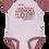 Thumbnail: Jim Quick & Coastline Baby Onesie - Girl / Pink