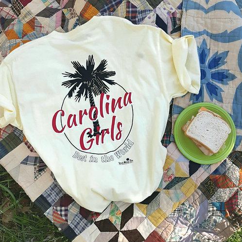 Carolina Girls - Best in the World shirt circle logo tee shirt