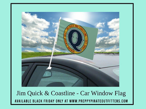 Jim Quick & Coastline Car window flag
