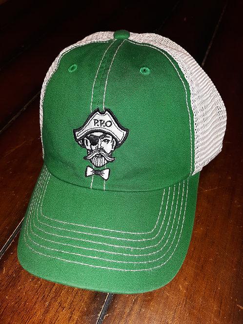 Preppy Pirate unstructured 47 trucker hat