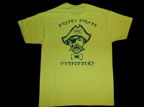 The Preppy Pirate original logo brand logo T shirt