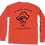 Thumbnail: Preppy Pirate Outfitters triple logo Long sleeve t - Bright Salmon