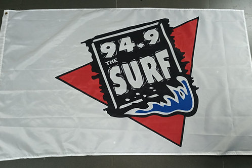 94.9 The Surf Official Tailgating Flag 3' X 5'