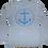 "Thumbnail: Preppy Pirate ""The Anchor"" Tri-Blend longsleeve shirt"