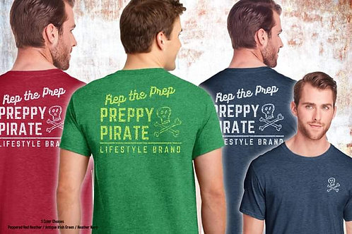 Preppy Pirate Lifestyle Brand T Shirt