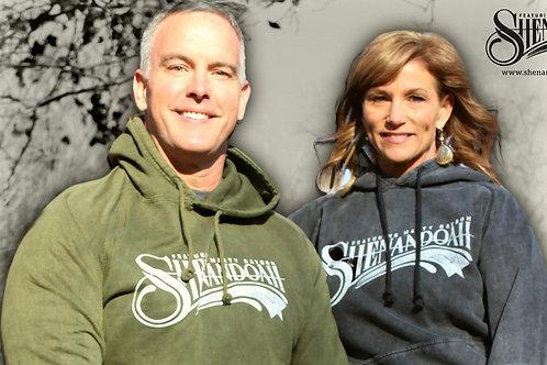 Shenandoah Logo Hoodie Pullover /Olive