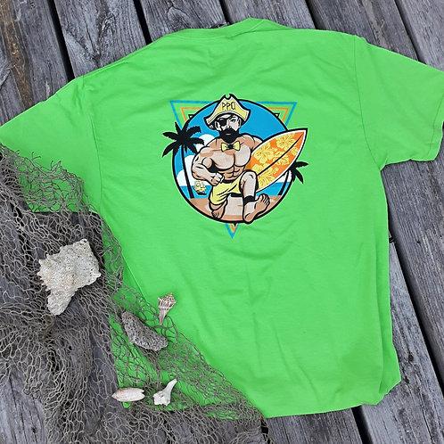 Preppy Pirate Short sleeve Retro Surfer T shirt