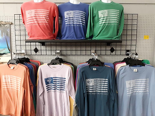 Preppy Pirate Outfitters United We Rep Long Sleeve