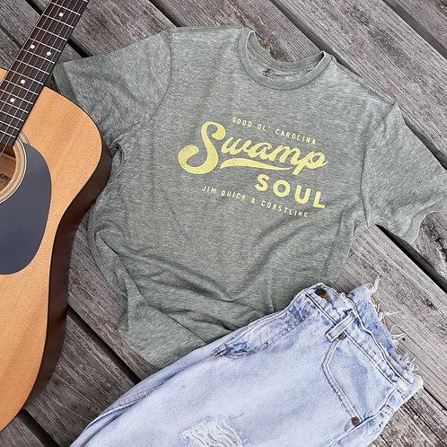 """Jim Quick & Coastline """"Swamp Soul"""" Burnout shirt"""