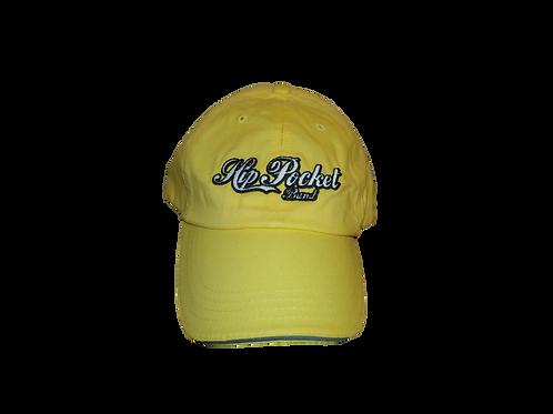 Hip Pocket Sunshine yellow logo hat