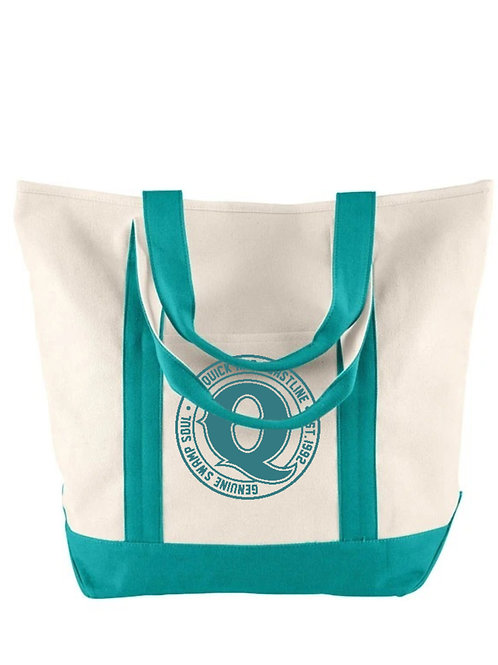 Jim Quick & Coastline Canvas large tote bag by Comfort Colors
