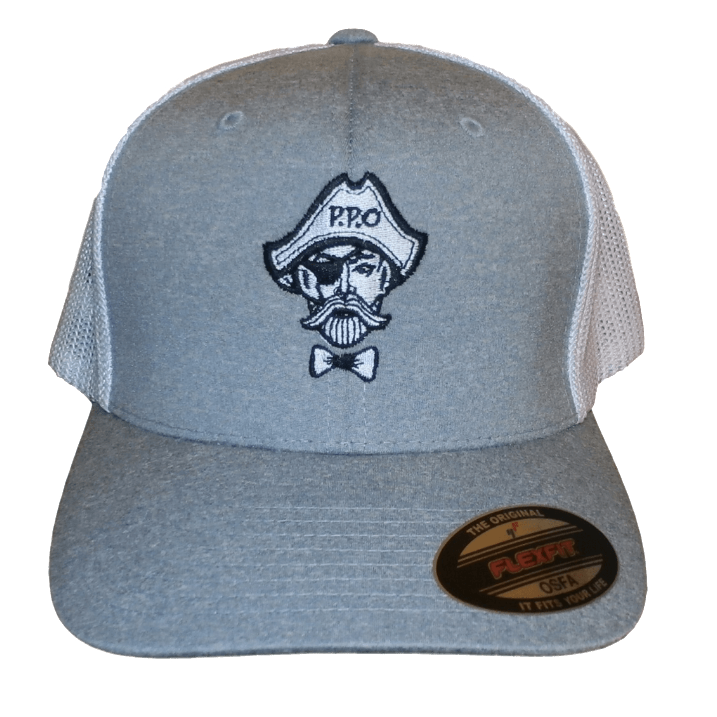 Preppy Pirate FlexFit Fitted hat -OSFA | preppypirate