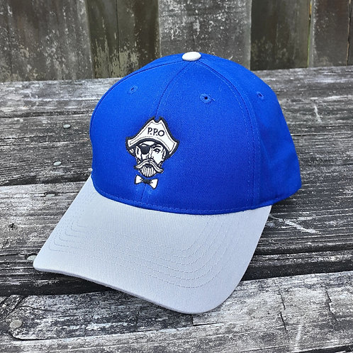 Preppy Pirate Kids Youth Blue Hat