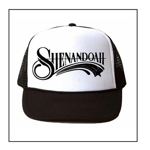 Shenandoah Band 1980s retro style trucker hat