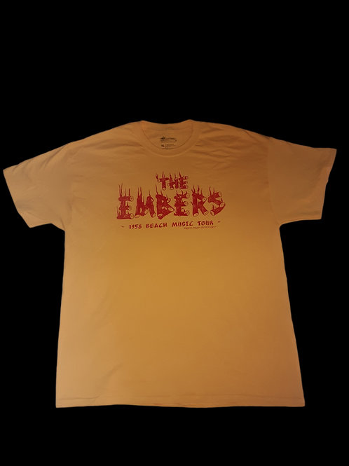 The Embers 1958 Beach Music Tour Legends Collection t shirt