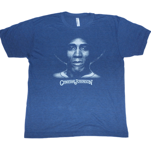 General Johnson -Legend tee,  tri-blend shirt