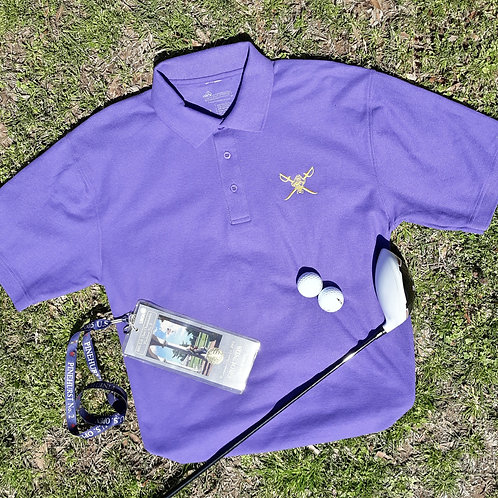 Preppy Pirate Outfitters Golf shirt - Purple