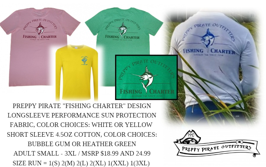 Preppy Pirate Fishing Charter