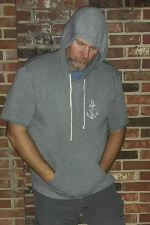 Preppy Pirate half sleeve hooded baller sweatshirt