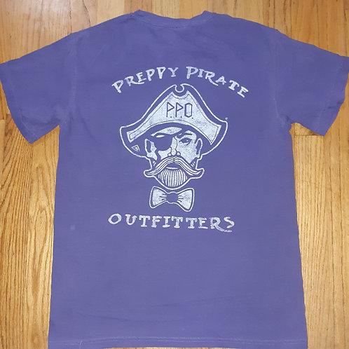 Preppy Pirate Original Double Logo Pocket T Shirt