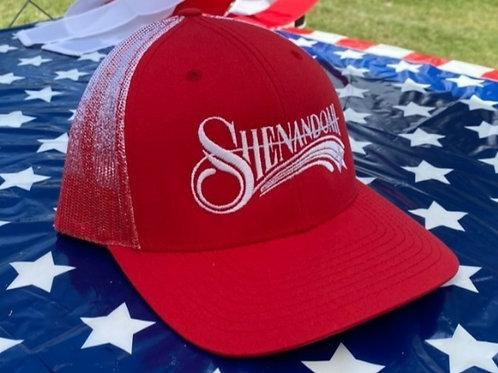 "Shenandoah Band ""Fade"" trucker snapback hat"