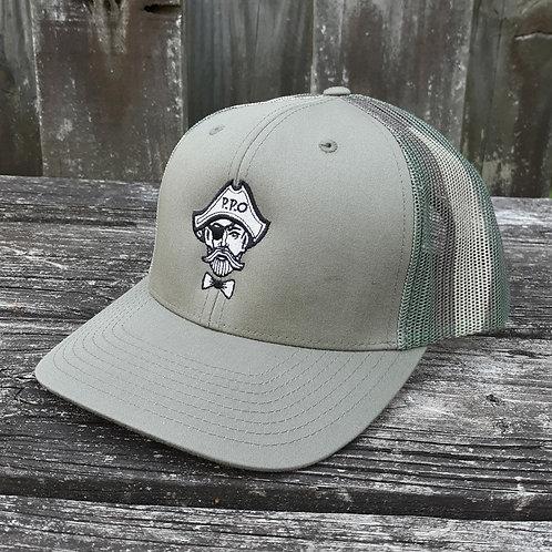 Preppy Pirate (Camo Mesh) snapback trucker hat