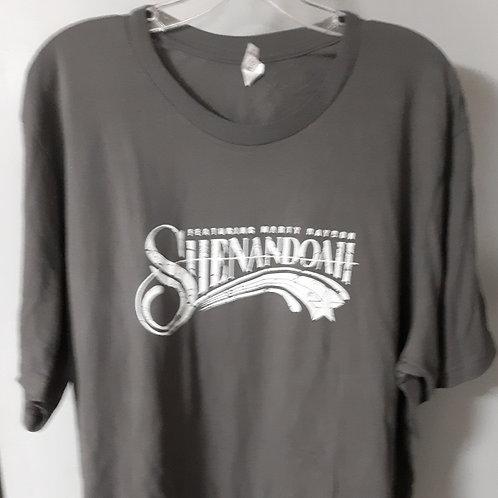 Shenandoah Short Sleeve Logo T Shirt - Grey