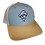 Thumbnail: Preppy Pirate snapback trucker hat - Heather Grey/Birch/A.Gold