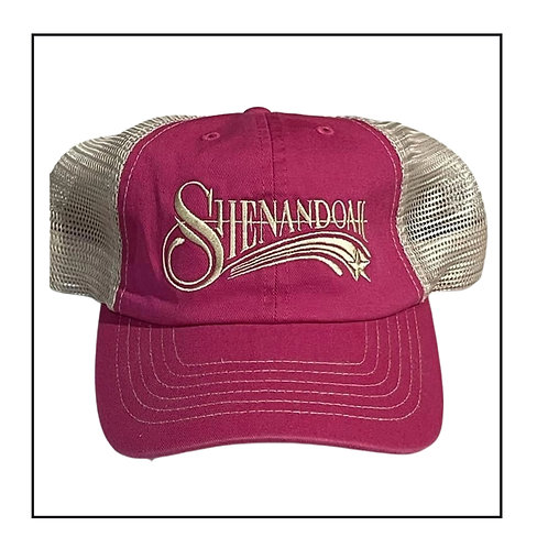 Ladies Shenandoah Band relax fit Pink trucker hat
