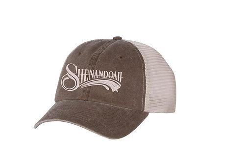 Shenandoah logo relax fit trucker hat