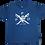 Thumbnail: Kids Preppy Pirate Cross Sword t shirt - Navy