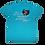 Thumbnail: The Embers - I love Beach Music t shirt / Tropical Blue