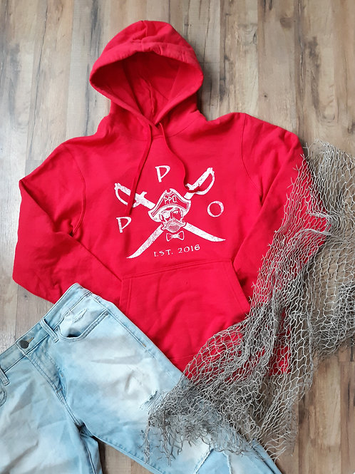 Preppy Pirate Outfitters Cross swords hoodie sweatshirt