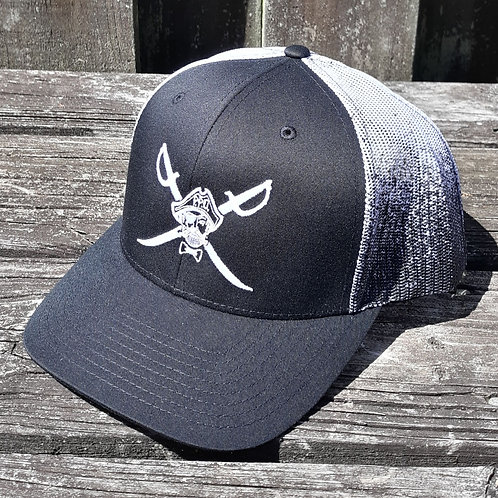 Preppy Pirate Cross Sword Fade hat