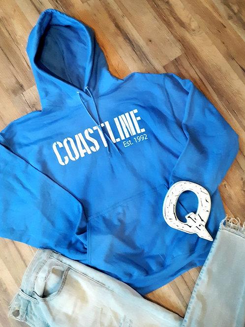 Jim Quick & Coastline Royal Blue hoodie sweatshirt
