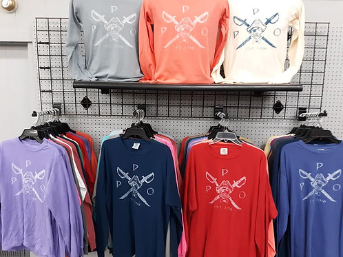Preppy Pirate Outfitters Cross Sword Long Sleeve