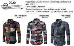 Button Up fashion by Preppy Pirate