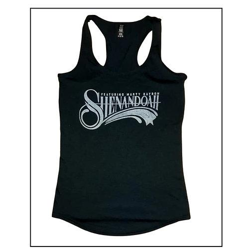 Shenandoah Ladies black tri-blend tank top