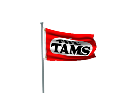 The Tams Original Logo Flag 3 x 5 Foot