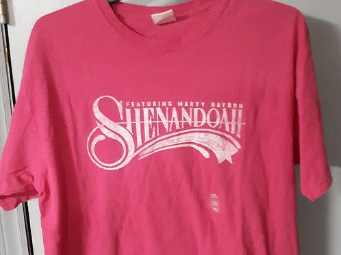 Shenandoah Short Sleeve Logo T Shirt - berry