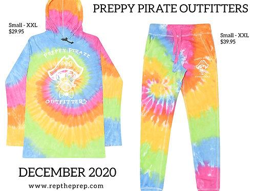 Preppy Pirate Limited Edition Tie-Dye Fashion set