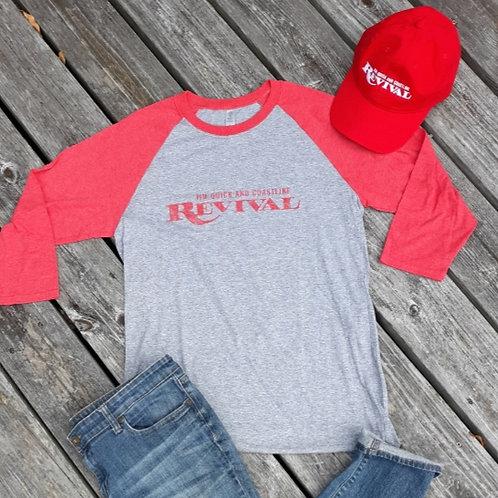 """Revivial"" Jim Quick & Coastline baseball shirt"