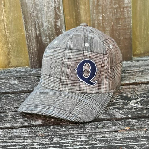 Jim Quick & Coastline Glen Check stretch fit (fitted) hat
