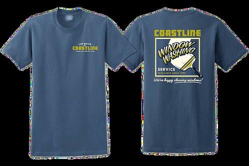 Jim Quick & Coastline Cleaning Windows shirt