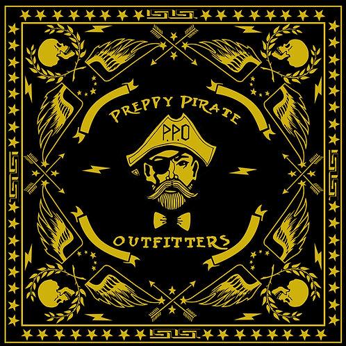 Preppy Pirate retro style bandana / Face Cover