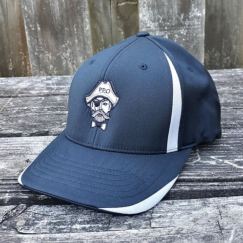 Preppy Pirate Performance stretch fitted hat