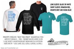Rep The Prep - Hashtag tee