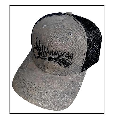 Shenandoah Band grey swirl trucker hat